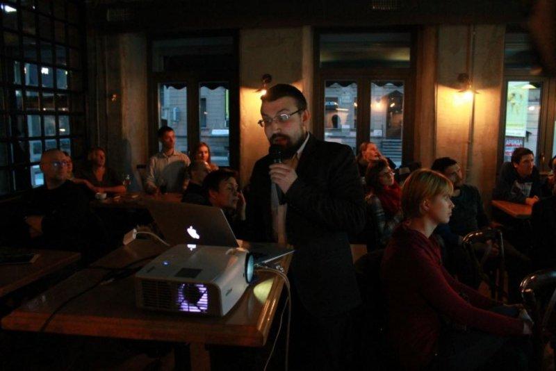 Фото к «Человек и океан»: в Санкт-Петербурге прошел первый выпуск ток-шоу «Разберем на атомы»
