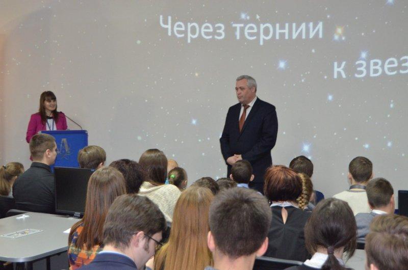 Фото к В ИЦАЭ состоялся телемост с российскими летчиками-космонавтами
