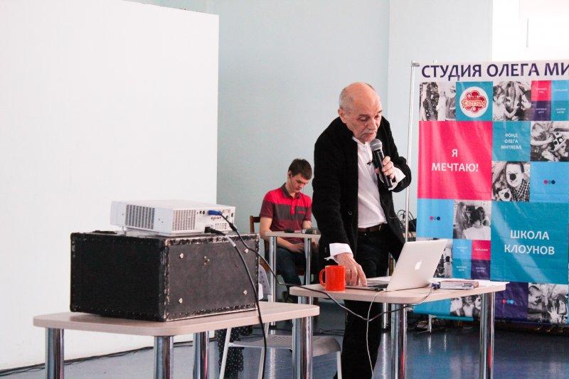 Фото к Борис Трофимов рассказал челябинцам о типографике