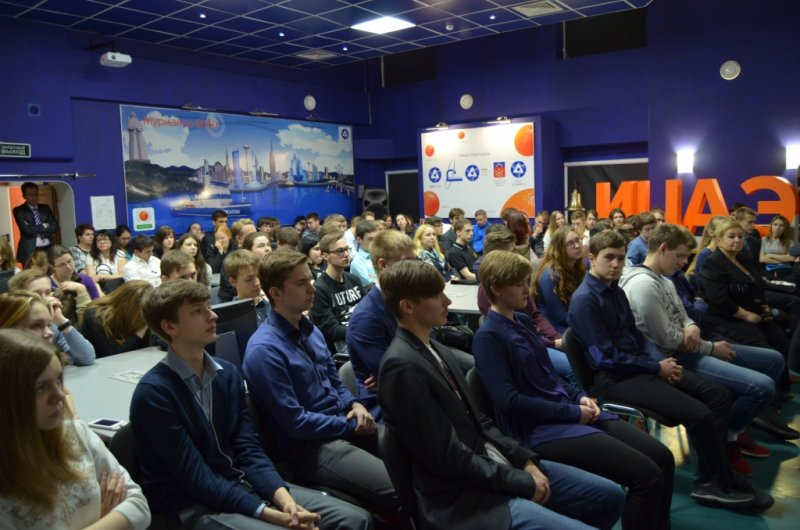Фото к В ИЦАЭ Мурманска школьники обсудили вопрос, сколько нужно для победы?