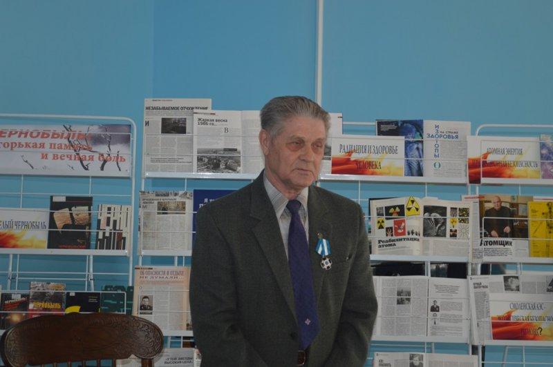 Фото к В информационных центрах по атомной энергии продолжаются встречи с ликвидаторами аварии на ЧАЭС