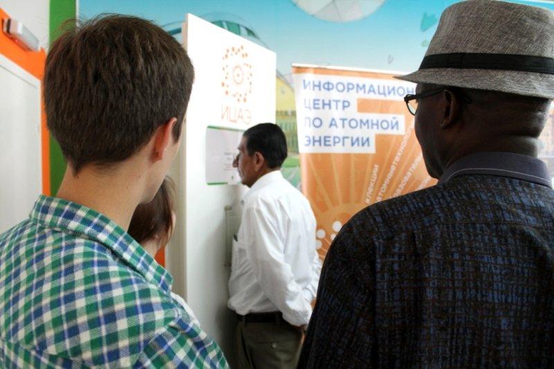Фото к Делегации из Южной Америки, Африки и Вьетнама познакомились с миссией сети ИЦАЭ
