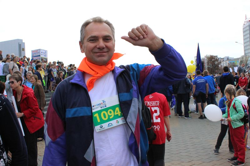 Фото к «О, спорт! Ты — жизнь!»: ИЦАЭ Минска принял участие в Минском полумарафоне