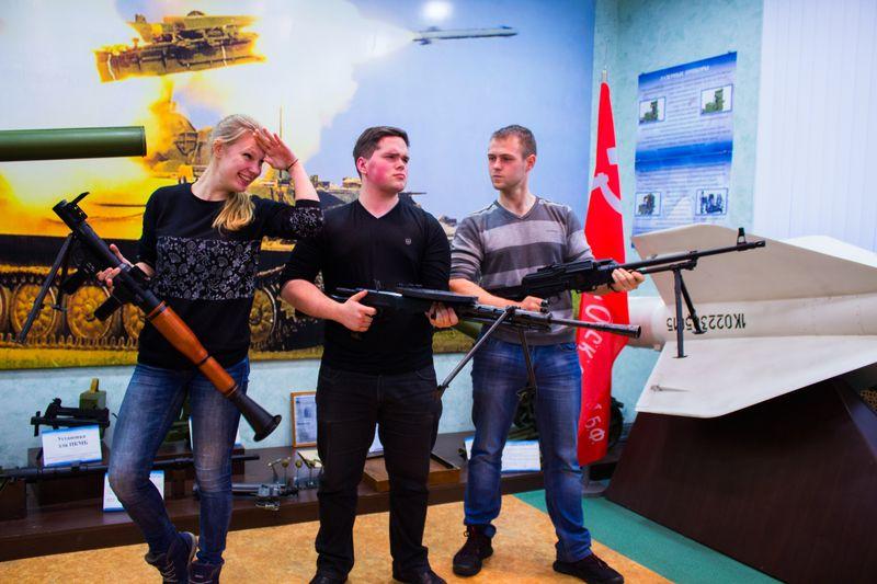 Фото к ПСР и коммуникации: в Коврове прошла встреча учеников Росатомклассов