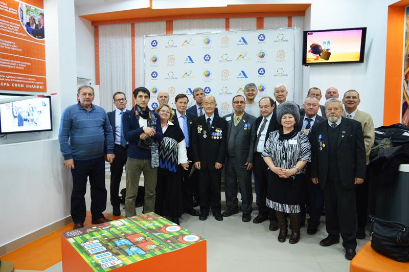 Фото к В Астане прошла встреча ветеранов атомной отрасли