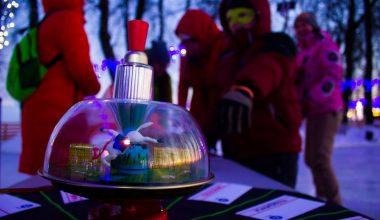 Фото к «Сдали на 5»: владимирские студенты отметили свой праздник на катке