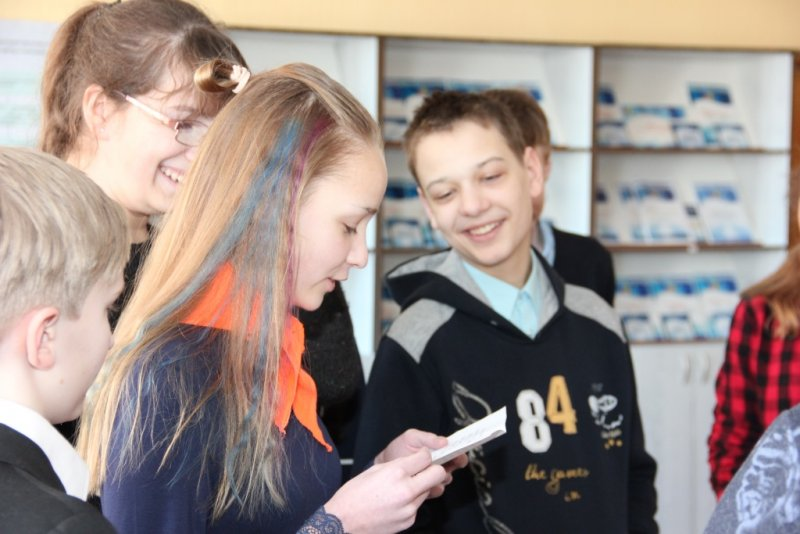 Фото к Минские школьники выбирали свою дорогу на профессиональном перекрестке